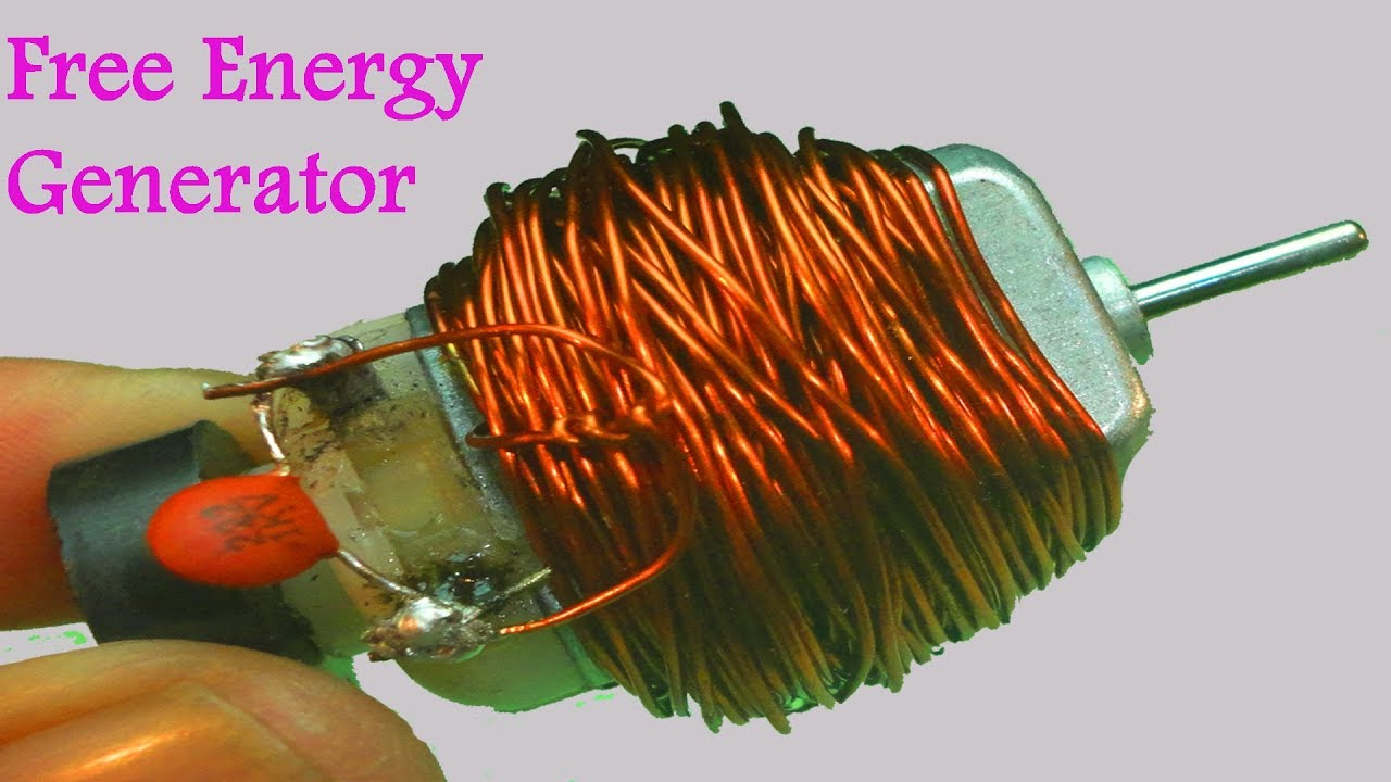 How To Make 100 Free Energy Generator Without Battery With The Help On Self Powered Schematic Diagram Of Copper Wear Home Invention