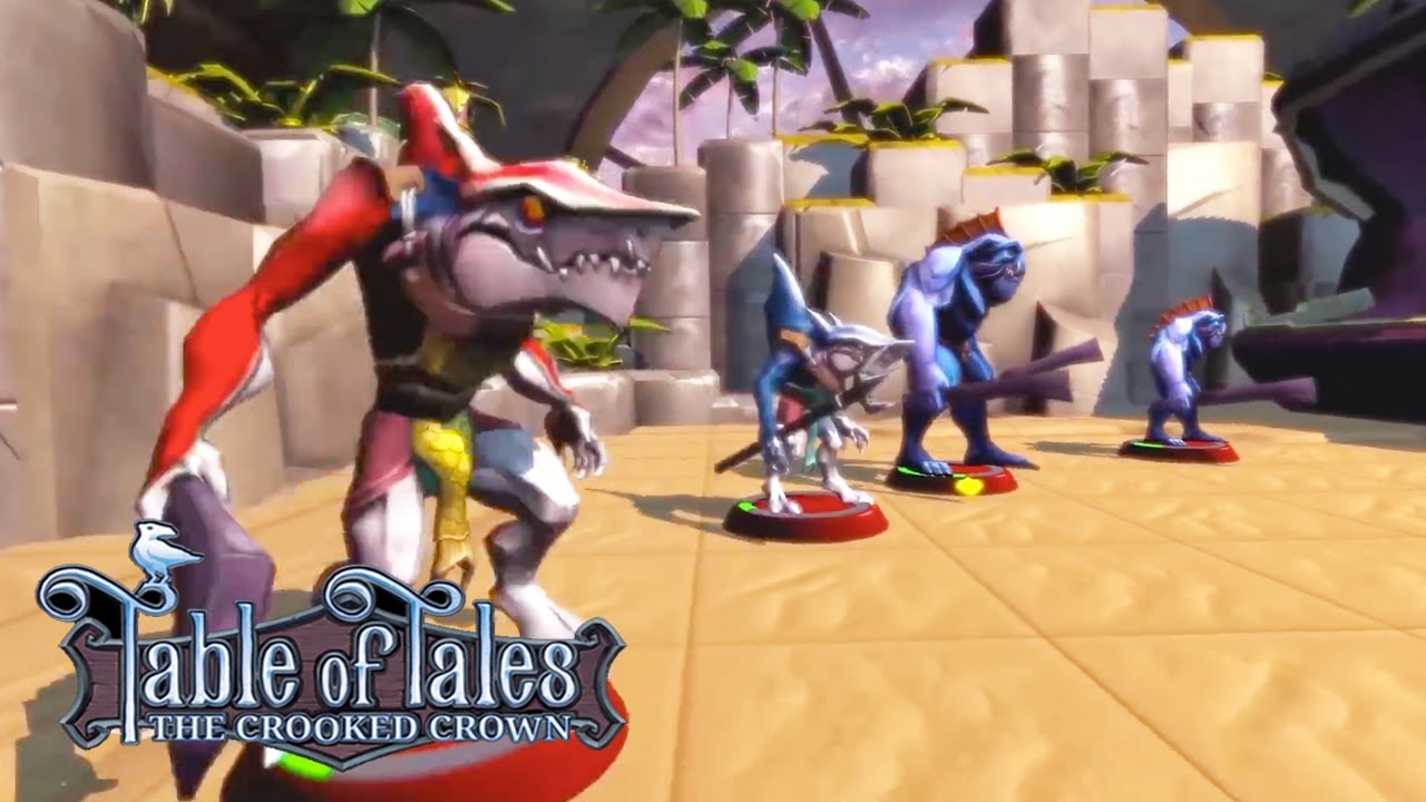 Table of Tales: The Crooked Crown - PSVR Teaser Trailer | E3 2018