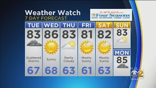 CBS 2 Weather Watch 11 a.m. 8-6-19