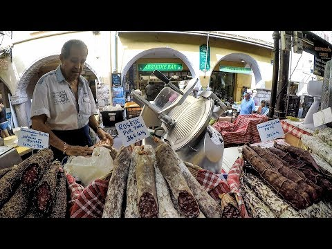 Antibes Traditional Food Market. A Walk Into the Marché Provencal. French Food and Street Food