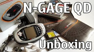 Nokia N-Gage QD Silver Edition Unboxing 4K with all original accessories Nseries RH-29 review