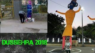 Dussehra 2018|Different Types Of Ravan Effigies|Ravan Dahan In Delhi|