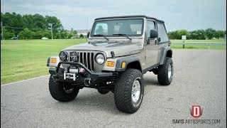 Davis AutoSports 2006 Jeep Wrangler Unlimited / Only 66k / Lifted / Video 1