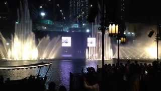 Dubai Fountain 2015 - Lionel Richie - All night long