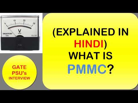 PMMC instruments Explained in Hindi (English Sub-titles)