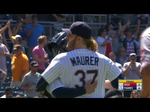 CIN@SD: Maurer K's Duvall to secure the save