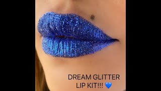 DAYME COSMETICS - How to apply my Dream Glitter Lip Kits!