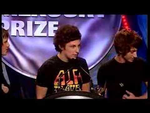 Arctic Monkeys - Mercury Music Speech