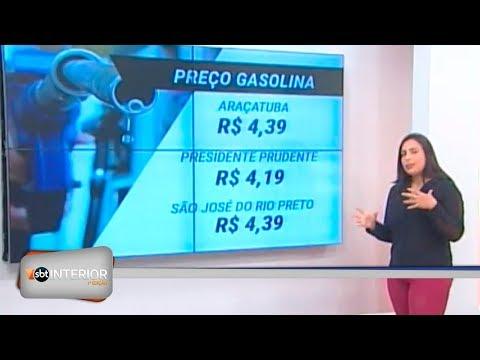 Preço do litro da gasolina chega a R$ 4,39 na região e deve ficar mais caro
