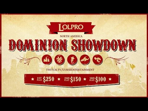 LoLPro Dominion Showdown Showmatch Game 3 ARAB Curse Academy vs Clueless