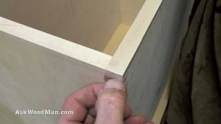 How To Make Plywood Boxes 24 of 64 Woodworking project for kitchen cabinets, desks, etc...