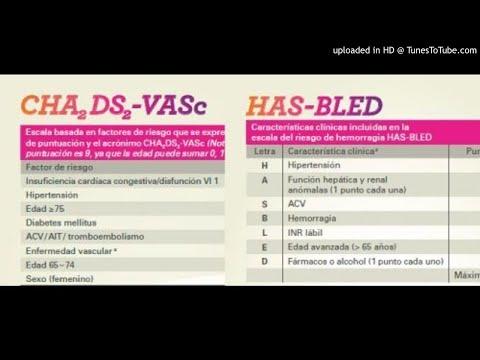 Criterios de CHADS-VASc y HAs-BLED  ECOE (podcast)