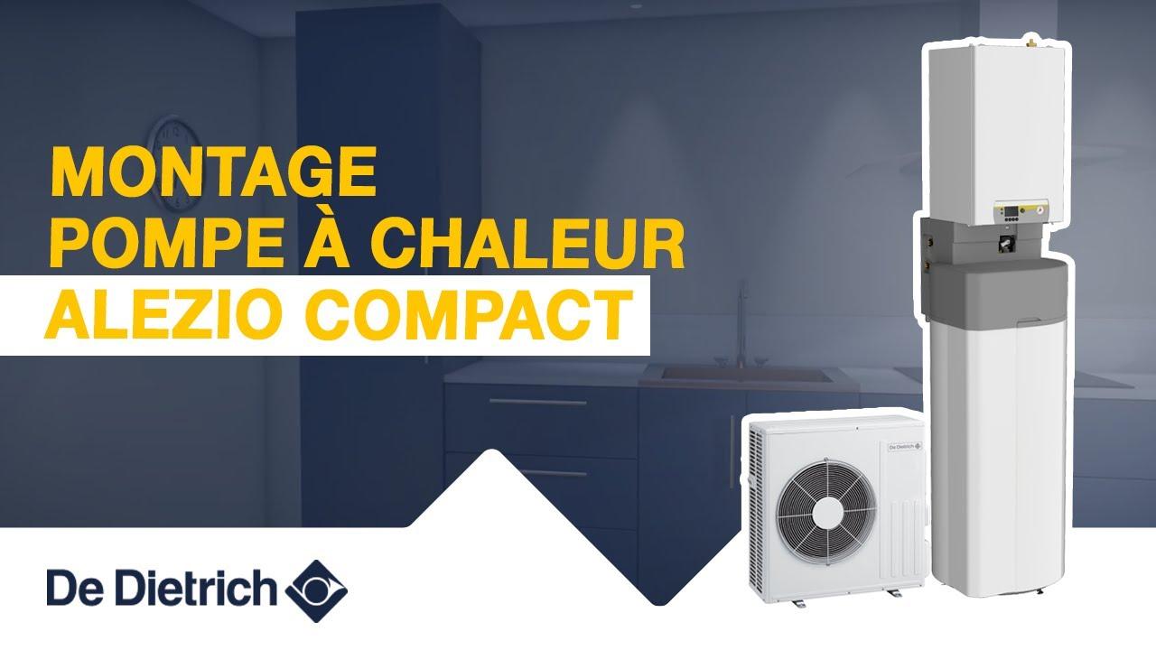 Montage de la pompe à chaleur Alezio Compact