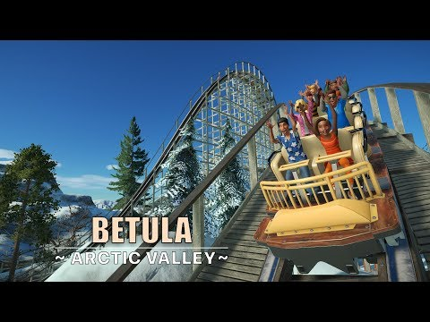 Planet Coaster: Betula [Gnarler Wooden Coaster]