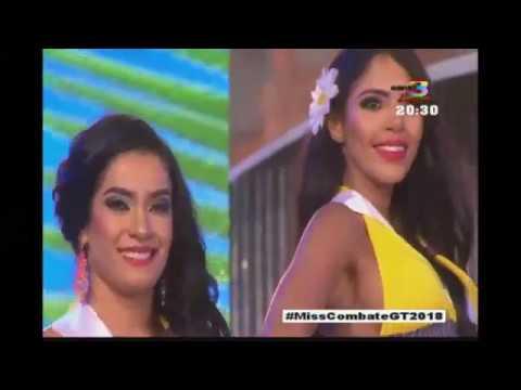 ¡Iniciamos el desfile de las candidatas a Miss Combate Guatemala!