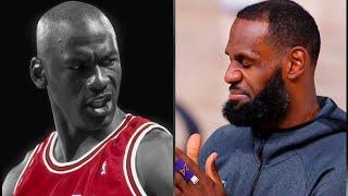 "LeBron Shuts Down claim that Michael Jordan would average 50 in today's Era: ""That is DISRESPECTFUL"""