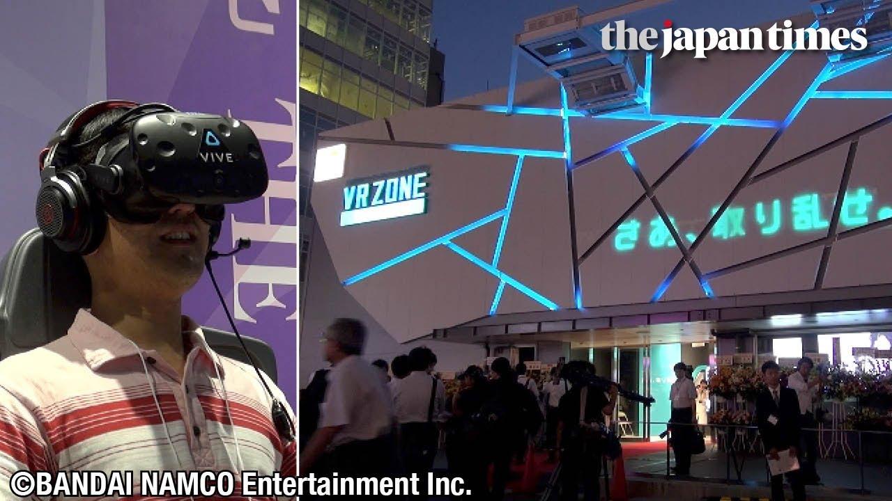 Visiting VR Zone Shinjuku at Kabukicho