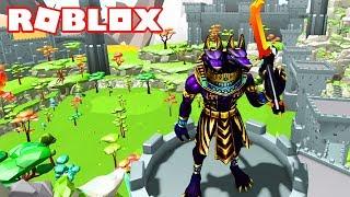 I BECOME A GIANT EGIPCIO GOD! 😈 Roblox Giant Simulator