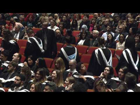 Fall 2016 Convocation Ceremony - Faculty of Arts and Science