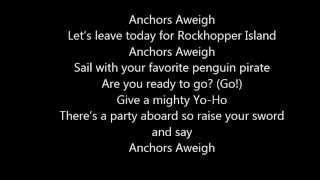 Club Penguin Penguin Band  Anchors Aweigh Lyric Video