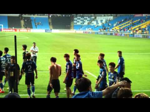 Incheon, after the game