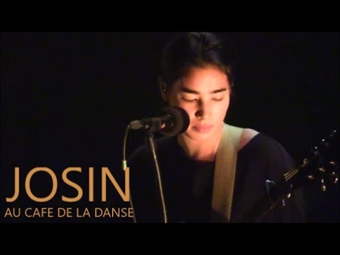 JOSIN LIVE IN PARIS AU CAFE DE LA DANSE LE 21 OCTOBRE 2015