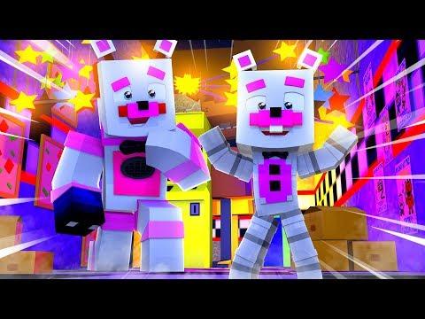 Funtime Freddy Meets Helpy! Minecraft FNAF Roleplay