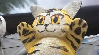 Flying Panda & Tiger & CAT 空飛ぶパンダ トラ ネコ thumbnail