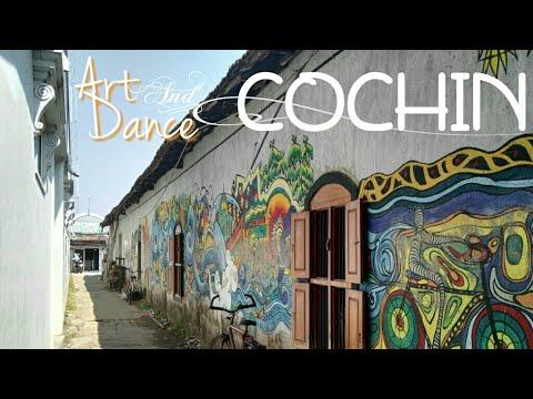 COCHIN (KOCHI)👍ART &DANCE🎭 _ INDIA 2018 _ BelinoniOnTheRoad