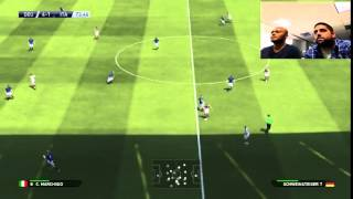 PES 2015 patch gameplay HD Germany v Italy