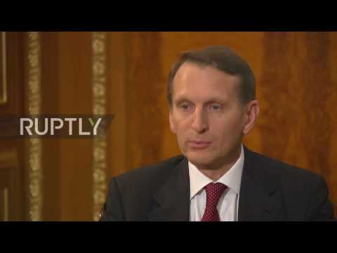 Russia: Intelligence services worldwide must cooperate – Naryshkin