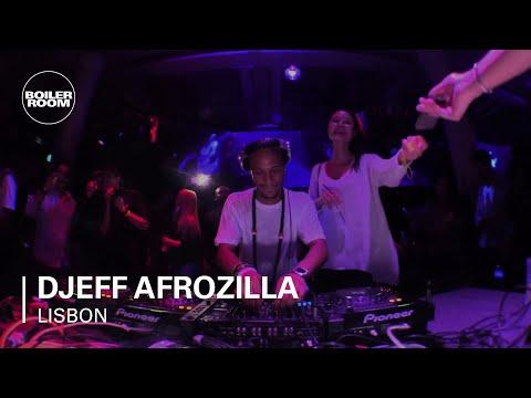 Djeff Afrozilla Boiler Room x RBMA Lisboa DJ Set
