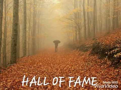 Lirik lagu hall of fame
