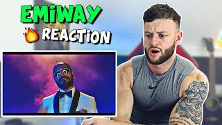 FIRST TIME Reacting to Emiway - Freeverse Feast ( Daawat )