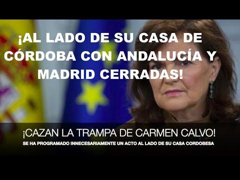 ¡LA TRAMPA DE CARMEN CALVO PARA SALTARSE EL CONFINAMIENTO!