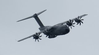 Airbus A400M Atlas flying Display at RIAT 2014 Friday 11 July Air Show