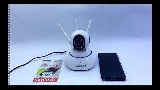 How to setup Yoosee Camera Memory Card