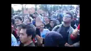 Goyang Cesar - flash mob - UKSW - PHB