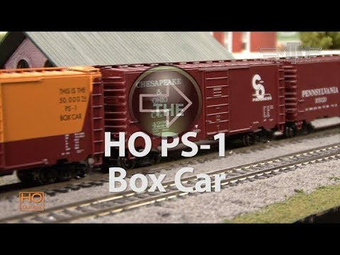 MTH Electric Trains HO Scale Ps-1 Box Car