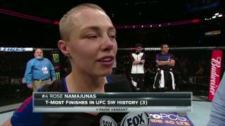 Rose Namajunas defeats Michelle Waterson