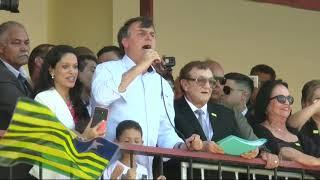 Bolsonaro diz que Argentina pode virar Venezuela se oposição vencer
