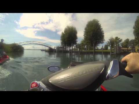 Sea-Doo Adventure on Lake St. Clair- UNCUT