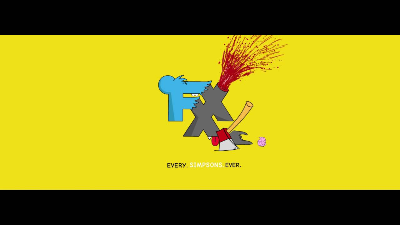 FXX The Simpsons Id's - Cartoons Compilation - YouTube
