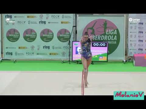 ELEONORA ROMANOVA - ARO ( GIMNASTICA CONSELL ) ( FINAL LIGA IBERDROLA 2019 )