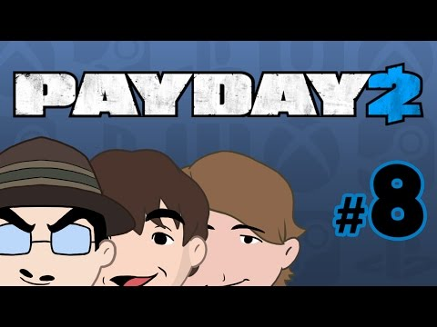 Payday 2: Transporting Money Fast - Episode 08 - Game Bros Station