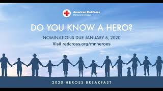 American Red Cross 2020 Heroes Breakfast Nominations
