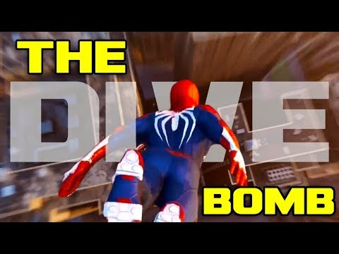 Spider Man PS4 Dive Bomb Breakdown
