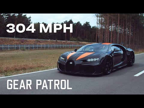 Special Ed  - Bugatti Showcasing A Beast That Hit Over 300 mph