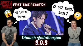 Dimash Qudaibergen / S.O.S at Slavic Bazaar REACTION by Songs and Thongs