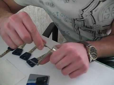 Взлом отмычками Mul-T-Lock  7x7   Вскрытие цилиндра Mul-T-Lock 7x7